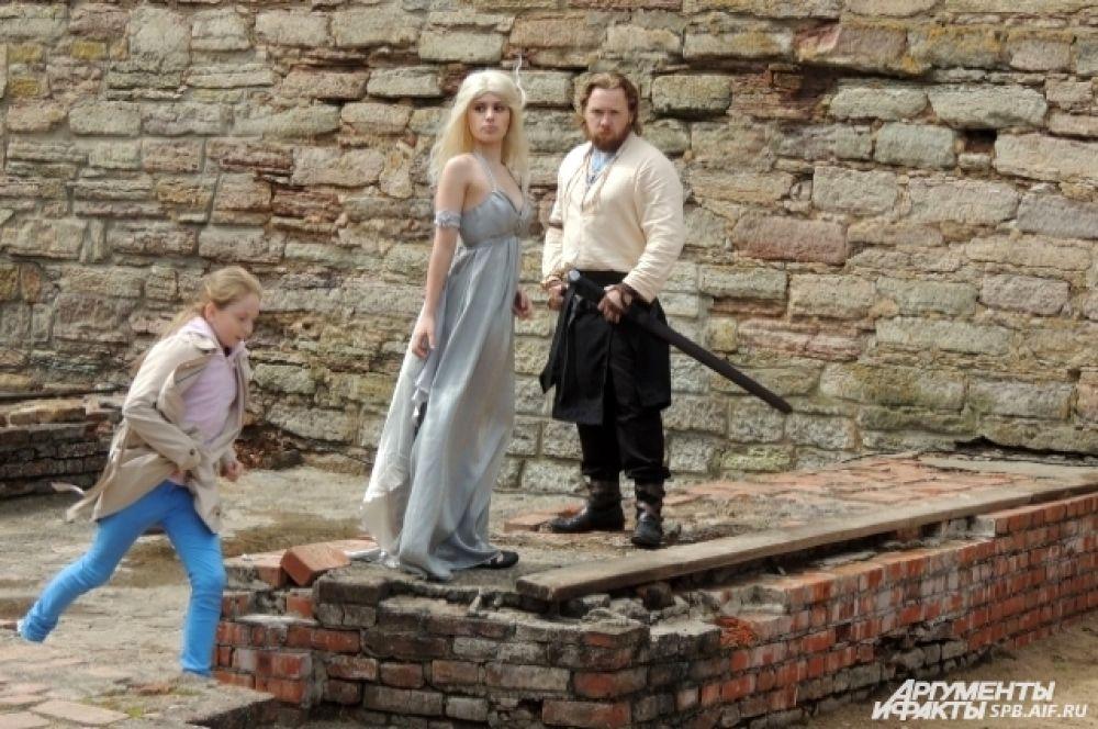 В крепости часто устраивают тематические фотосессии.