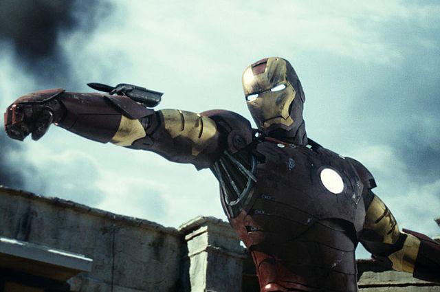 Кадр из фильма «Железный человек». 2008 год.