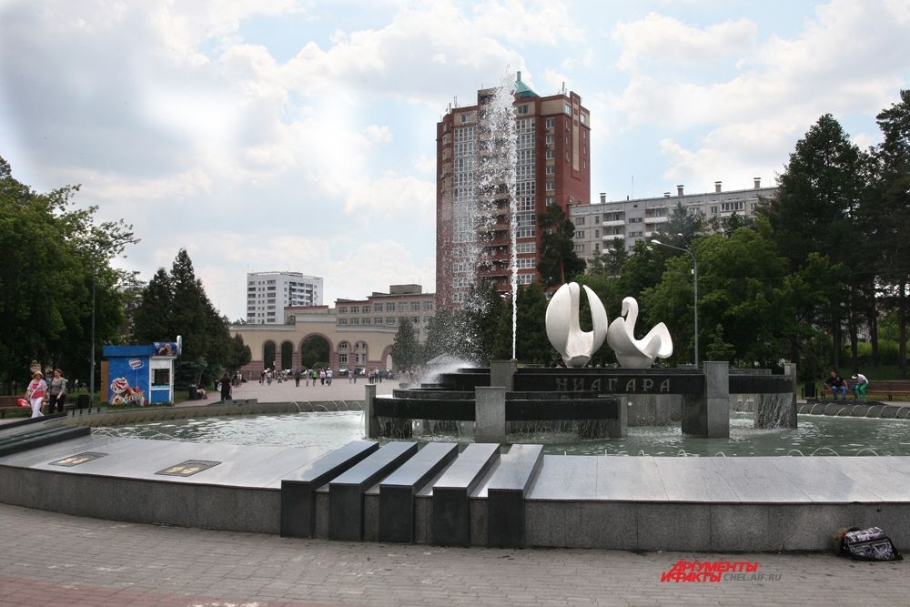 Фонтан в ПКИО им. Гагарина