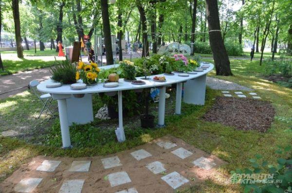 Сад воображения в центре Петербурга