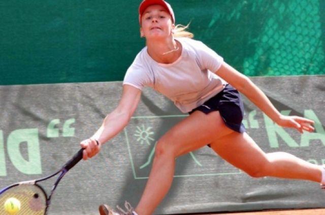 Украинская теннисистка Мария Корытцева