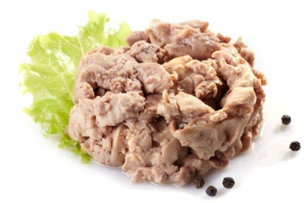 Печень трески. В ней много витамина А, полиненасыщенных жирных кислот.