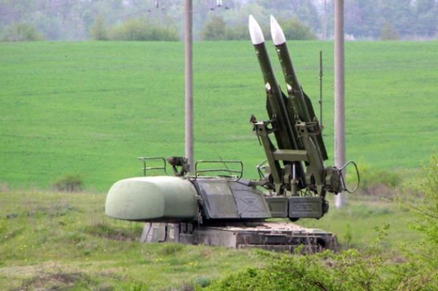 Ракетно-зенитный комплекс Бук-М1