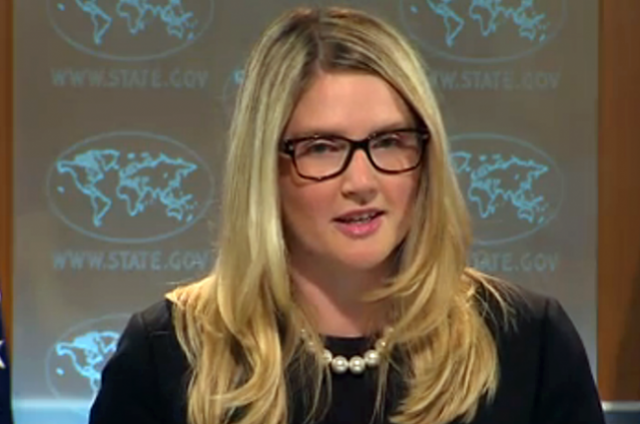 Мари Харф, официальный представитель Государственного департамента США