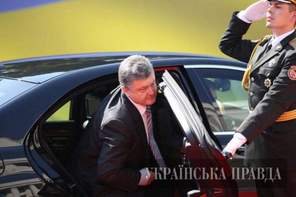 Порошенко приехал на инаугурацию