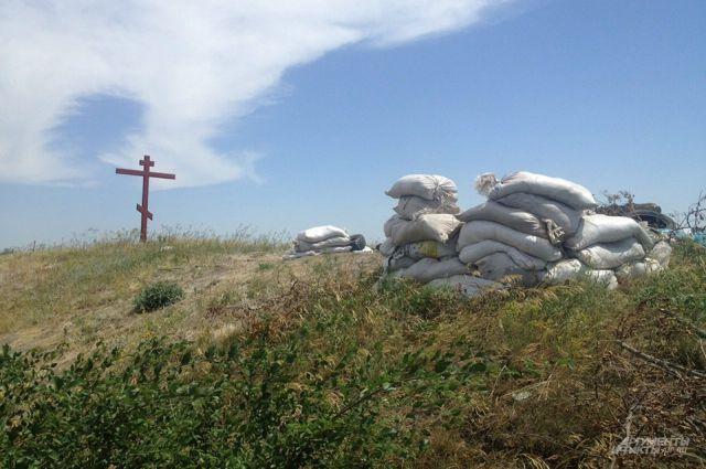 Граница в Луганской области