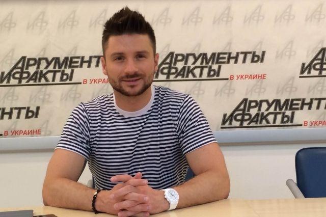 Сергей Лазарев, тренер проекта «Голос країни»