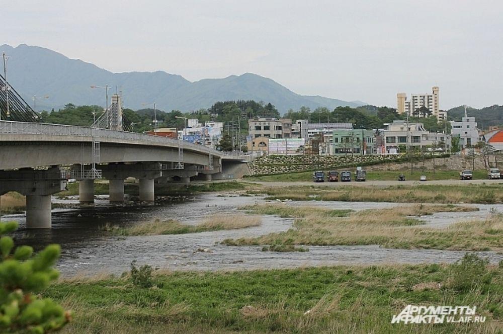 Город Сокчо богат рыбой и грибами.