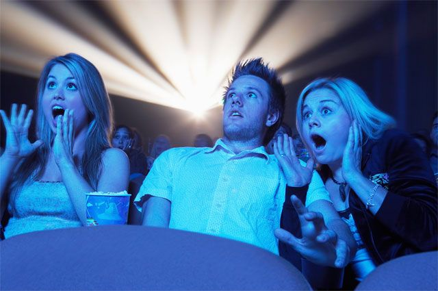 Кино любят все, даже страшное.