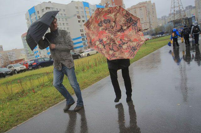 Дожди будут идти на Среднем Урале всю неделю