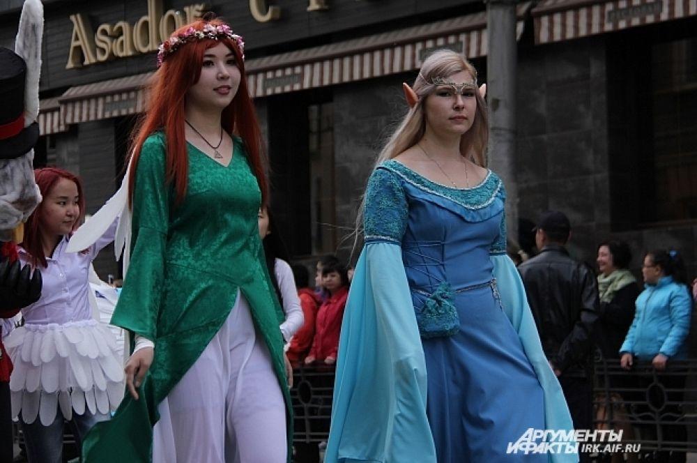 Ку да же без героев аниме? Поклонников японской культуры в Иркутске огромное количество.