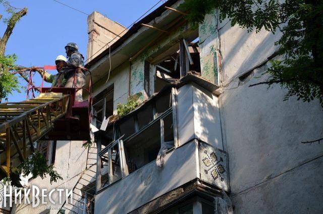 В Николаеве взорвался жилой дом