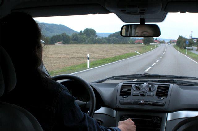В машине онлайн