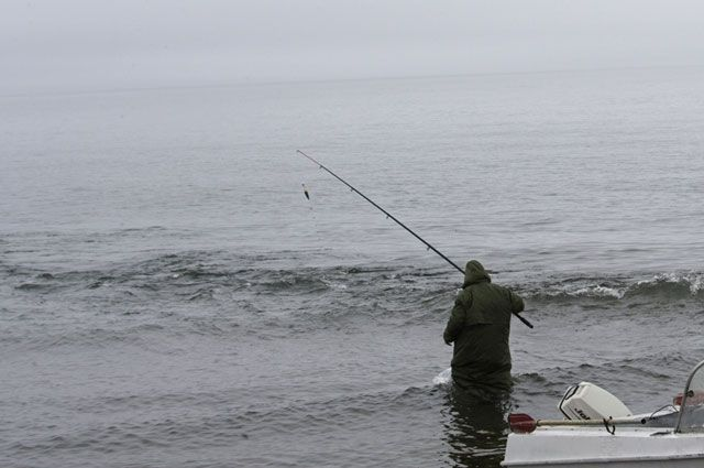 После рыбалки мужчину доставили в больницу.