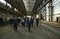 Площадка Троицкого металлургического завода.