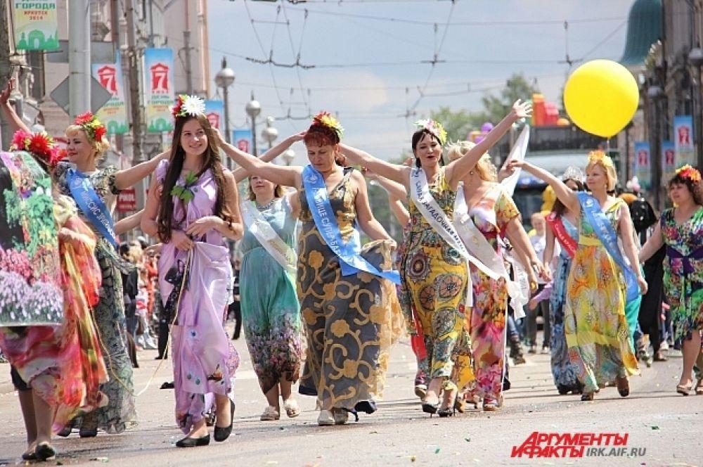 Всевозможные мисс украсили карнавал.