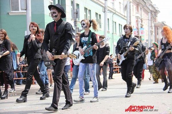 Вот так, по мнению местного антикафе, должна выглядеть рок-музыка.