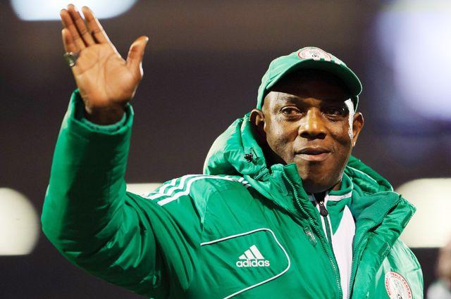 Главный тренер сборной Нигерии Стивен Кеши.