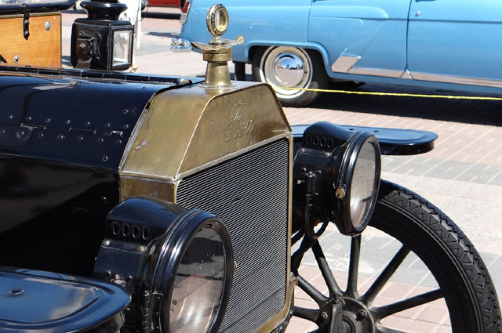 Особое внимание привлек «Форд» 1914-ого года