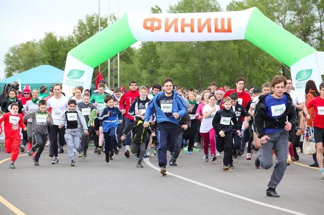 Состоялся третий «Зеленый марафон» Сбербанка