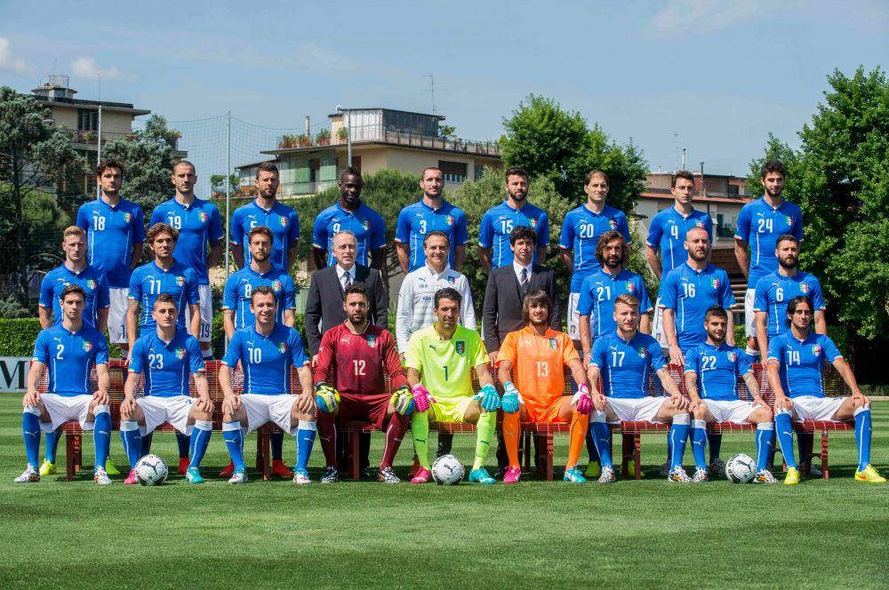 Сборная Италии сыграет в Бразилии в светло-синей форме – в других цветах «Скуадра Адзура» не выступает.