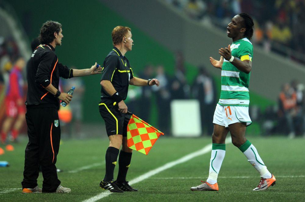 Сборная Кот-д'Ивуара сыграет в Бразилии в футболках в бело-зелёную полоску, напоминающую знаменитую раскраску шотландского «Селтика».