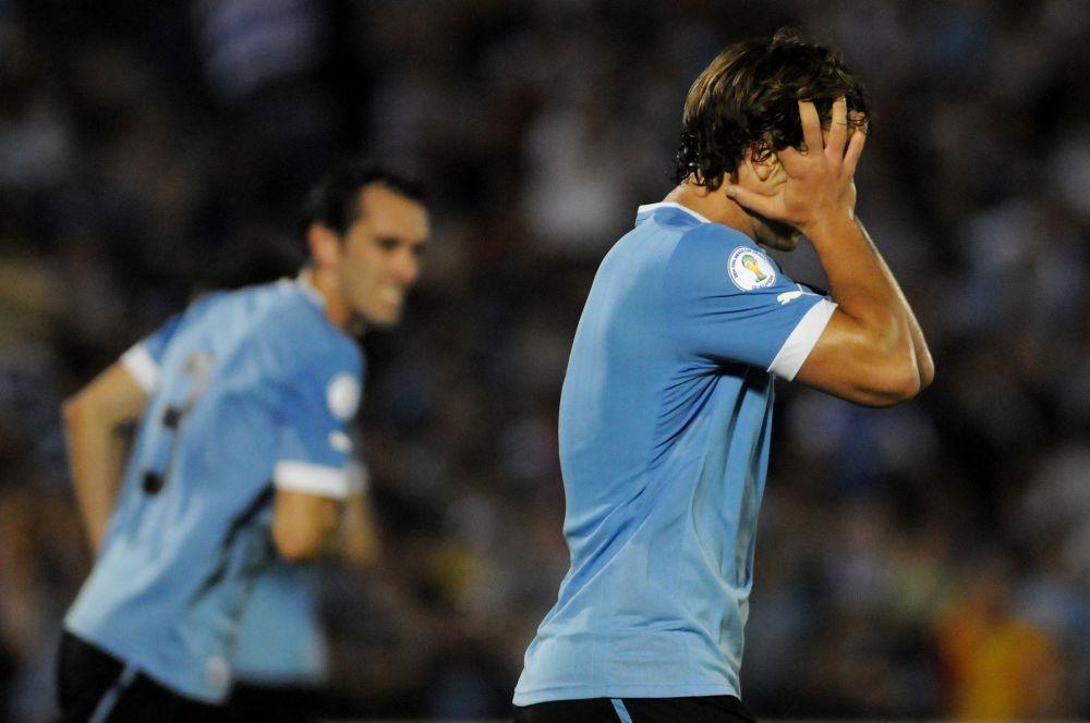 Традиционный светло-синий цвет формы для предстоящих игр в качестве основного выбрала команда Уругвая.