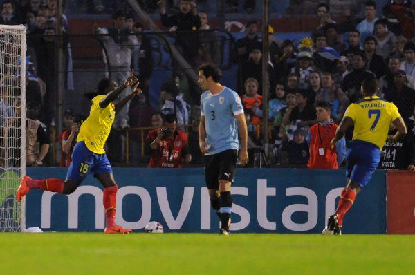 Эквадор выбрал для своей команды популярные в Южной Америке синий и жёлтый цвета.