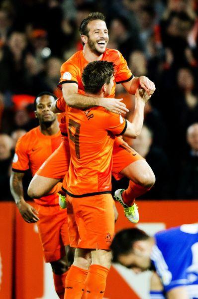 Команда Голландии в Бразилии останется верной оранжевому цвету.