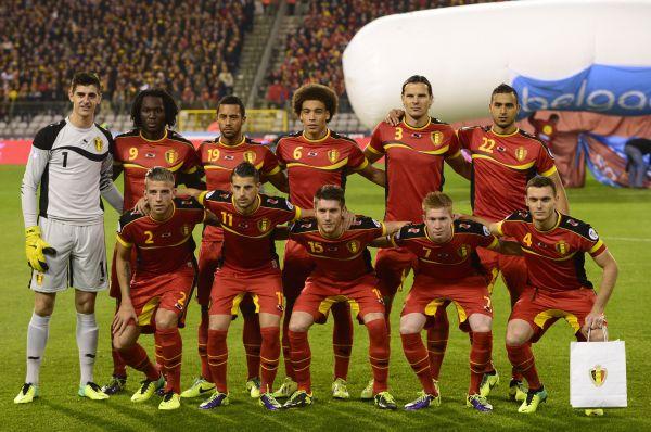 Форма сборной Бельгии – красная с чёрными и жёлтыми вставками в честь национального флага.