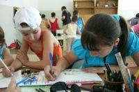 В июне иркутские дети отдыхают в лагерях дневного пребывания.