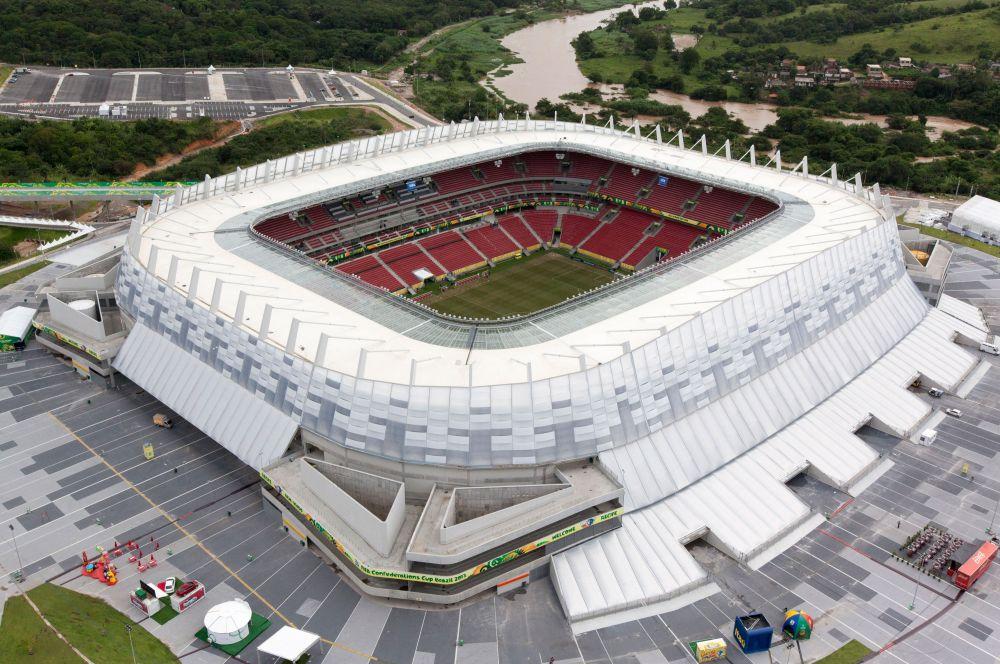 «Арена Пернамбуку» построена в Сан-Лоренсу-да-Мата специально к чемпионату мира. Вблизи стадиона также построены рестораны, торговый центр, музей, кино и театр.