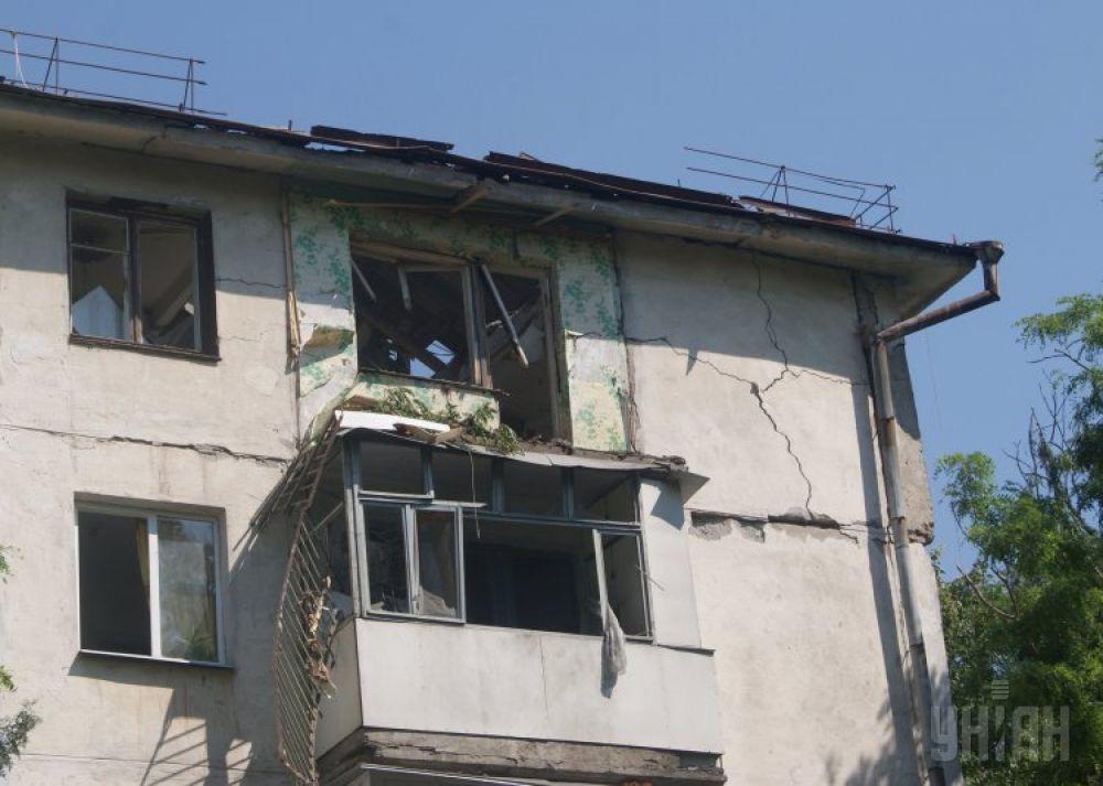 Квартира, в которой произошел взрыв