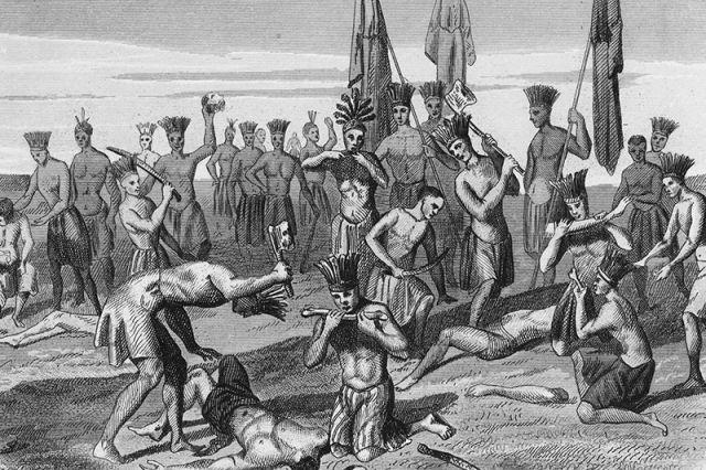 Говорят, что людоедство в доколумбовской Америке было в почёте.