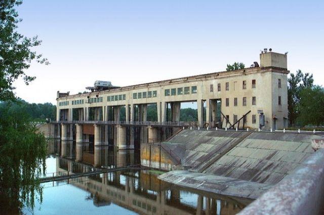 Начало канала Северский Донец-Донбасс