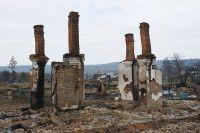 Так выглядит поселок Дальний после пожара.