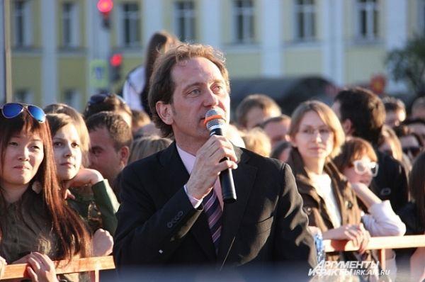 Праздник вел известный всей стране актер Александр Демидов, участник Квартета И.