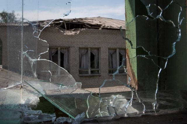Славянск после боевых действий
