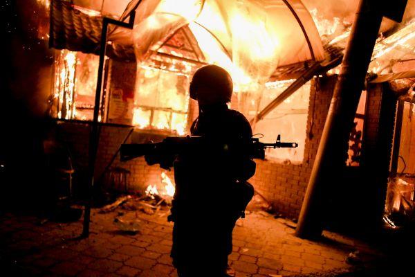Вооруженные сепаратисты на Донбассе
