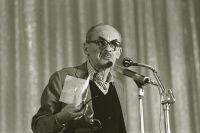 Булат Окуджава. 1988 год.