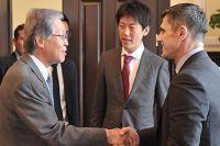 Встреча вице-премьера Яремы и посла Японии в Украине Саката