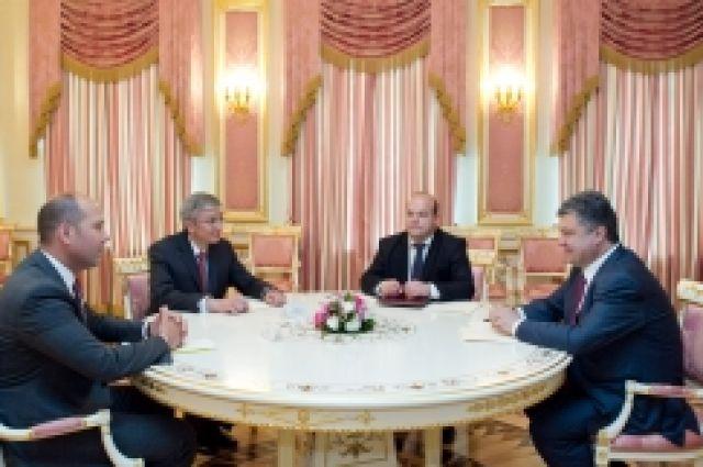 Встреча Порошенко с руководством украинской диаспоры