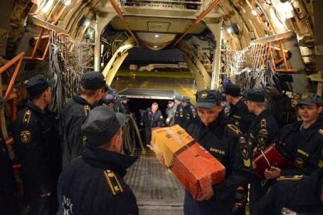 Сотрудники МЧС Свердловской области вылетели на помощь в Алтайский край
