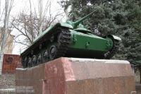 Танк-памятник