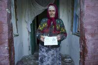 Бабушка в Славянске