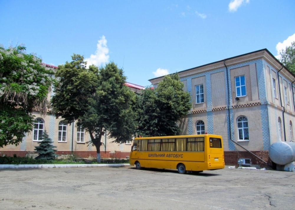 Гимназия имени Раковского,в которой учился Петр Порошенко