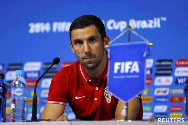 Дарио Срна, капитан «Шахтера» и национальной сборной Хорватии