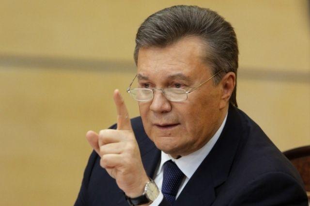 Экс-президент Янукович