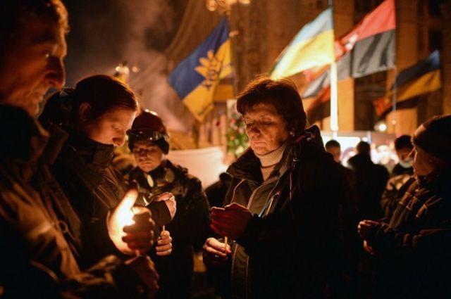 Трагические события на Майдане в феврале