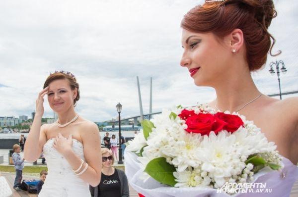 Невеста - это счастливое состояние души.